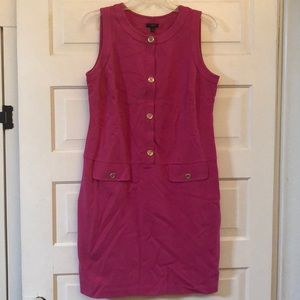Talbots pink dress